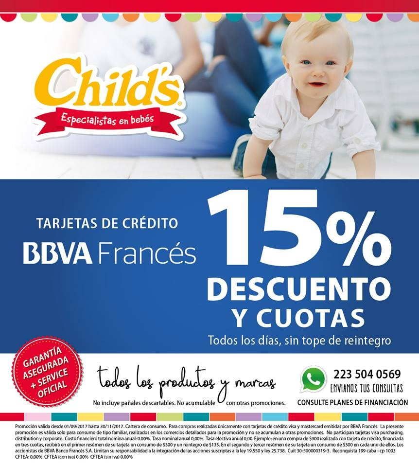 CHILDS, Promos y Beneficios, Encuentro Futuras Mamas y Papas Mar del Plata